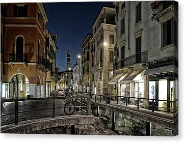 Verona After Midnight Canvas Print