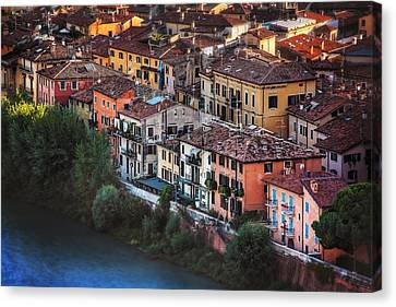 Verona City Of Romance Canvas Print