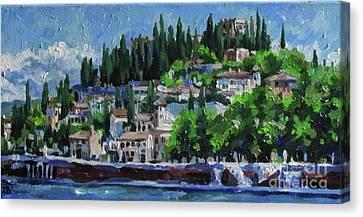 Verona. Italy Canvas Print by Ekaterina Bortsova