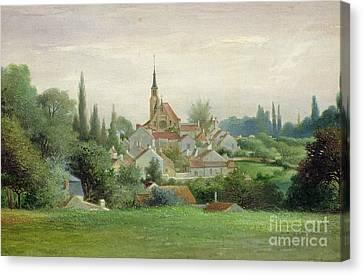 1880 Canvas Print - Verriere Le Buisson by Eugene Bourrelier