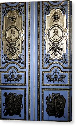 Versailles Door Canvas Print by Georgia Fowler