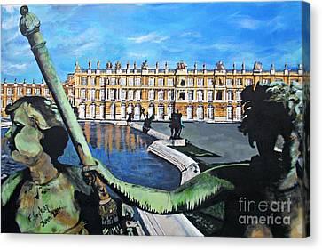 Versailles Palace Canvas Print by Francine Heykoop