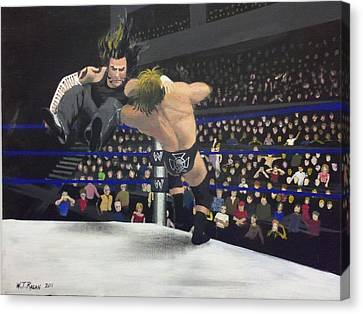 Versus Canvas Print by Travis  Ragan
