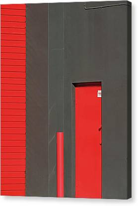 Vertical Red Canvas Print
