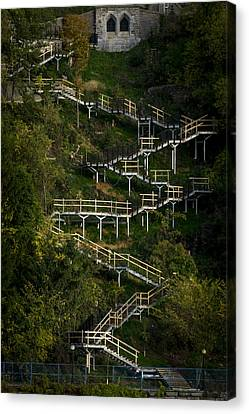 Vertical Stairs Canvas Print by Celso Bressan
