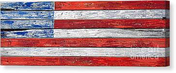 Very Old Glory Canvas Print by Olivier Le Queinec