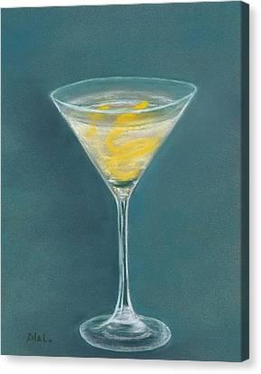 Vesper Martini Canvas Print
