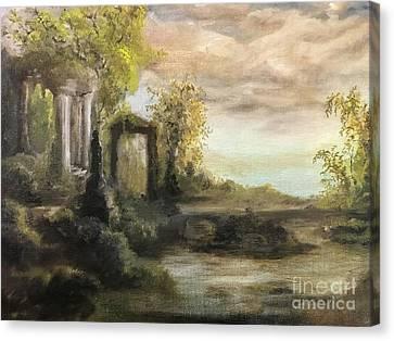Vestige Landscape 2 Canvas Print
