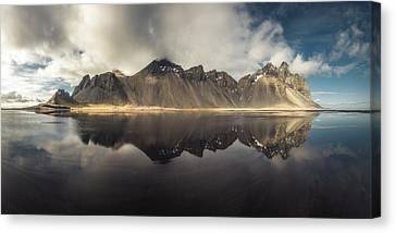 Vestrahorn Panorama Canvas Print by Tor-Ivar Naess