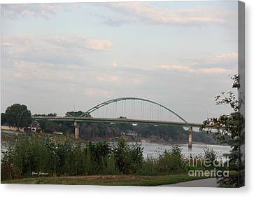 Vetrans Memorial Bridge Canvas Print