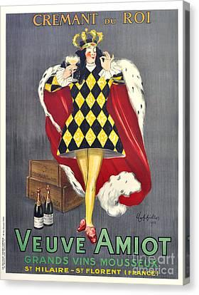 Veuve Amiot Canvas Print