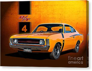 Vh Valiant Charger Canvas Print