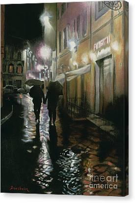 Via Della Spada - Firenze, Italia Canvas Print by Kelly Borsheim
