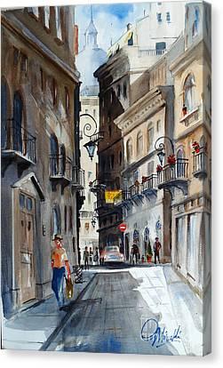 via Giardinetti  Canvas Print