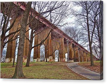 Viaduct Canvas Print by Mikki Cucuzzo