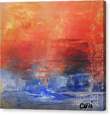 Vibrance Of Fall Canvas Print