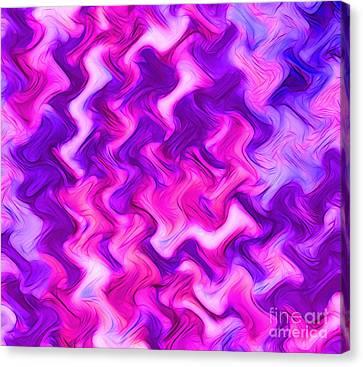 Vibrant Soul Canvas Print by Krissy Katsimbras