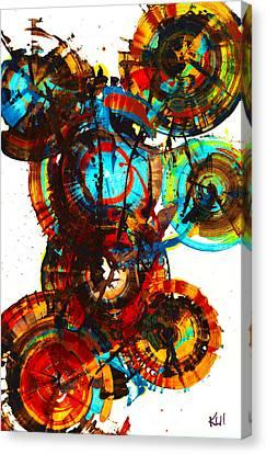 Vibrant Sphere Series 995.042312vsx2 Canvas Print by Kris Haas