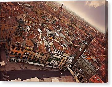 Europe Canvas Print - Vibrant Verona by Carol Japp