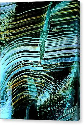 Vibrations Canvas Print by Nancy Kane Chapman
