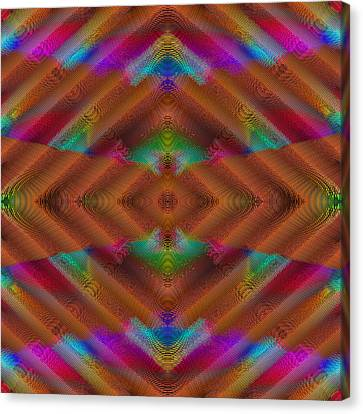 Vibrations Canvas Print by Visual Artist  Frank Bonilla