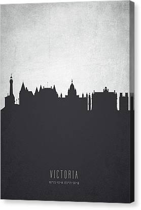 Victoria British Columbia Cityscape 19 Canvas Print by Aged Pixel