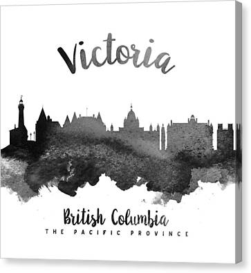 Victoria British Columbia Skyline 18 Canvas Print by Aged Pixel