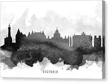 Victoria Cityscape 11 Canvas Print by Aged Pixel