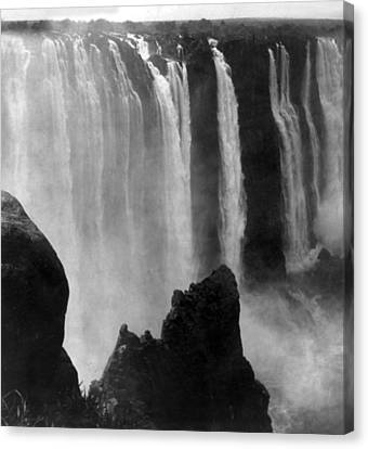 Victoria Falls - C 1911 Canvas Print by International  Images