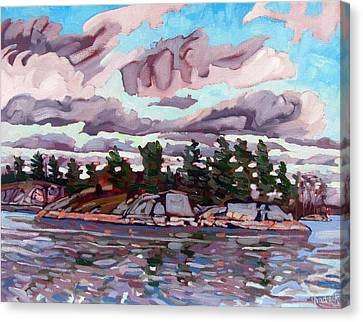Victoria Island Canvas Print by Phil Chadwick