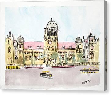 Victoria Terminus Canvas Print