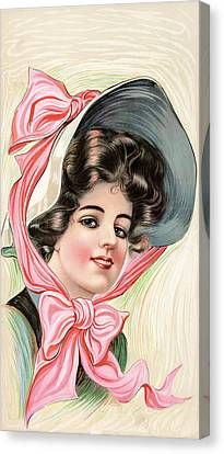 Victorian Beauty Canvas Print