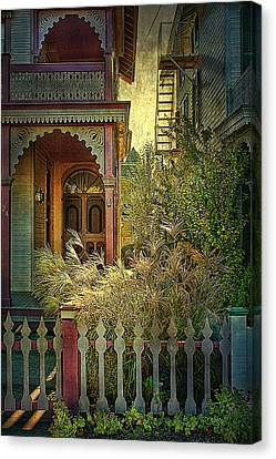Canvas Print featuring the photograph Victorian Charm by John Rivera