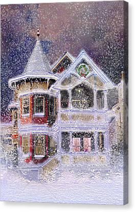 Victorian Christmas Canvas Print