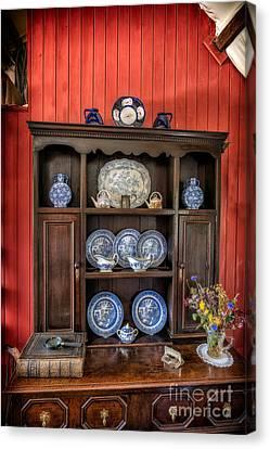 Victorian Dresser  Canvas Print by Adrian Evans
