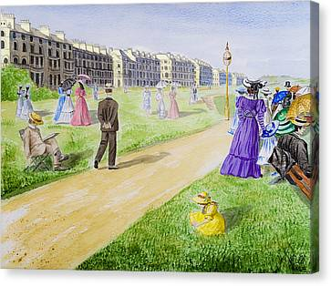 Victorian Filey Canvas Print by Svetlana Sewell