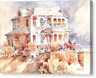 Victorian House Canvas Print