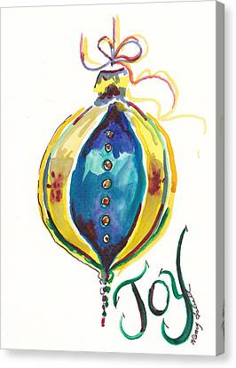 Victorian Joy Ornament Canvas Print by Michele Hollister - for Nancy Asbell