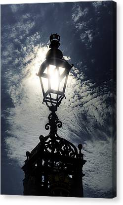 Victorian Lamp Post Canvas Print by Joana Kruse