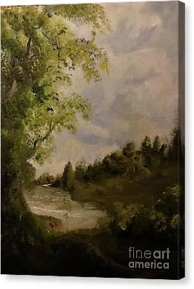 Victorian Landscape  Canvas Print