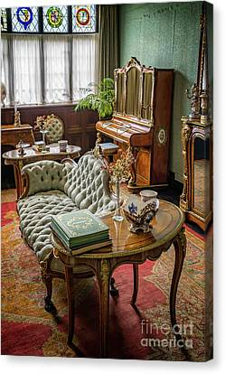 Curtains Canvas Print - Victorian Life by Adrian Evans