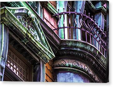 Victorian On Rush V2 Canvas Print by Raymond Kunst
