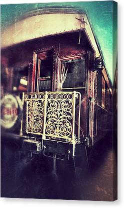Victorian Train Car Canvas Print by Jill Battaglia