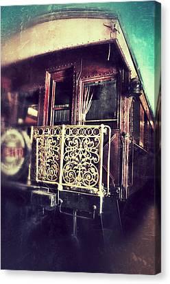 Victorian Train Car Canvas Print by Jill Battaglia