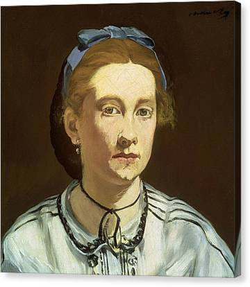 Victorine Meurent Canvas Print by Edouard Manet