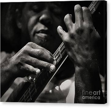 Canvas Print featuring the photograph Victor's Groove by Michel Verhoef
