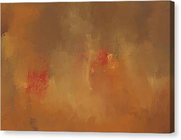 Victory Autumn Abstract Painting Canvas Print by Jai Johnson