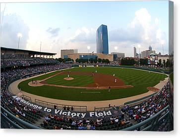Victory Field Canvas Print by Rob Banayote