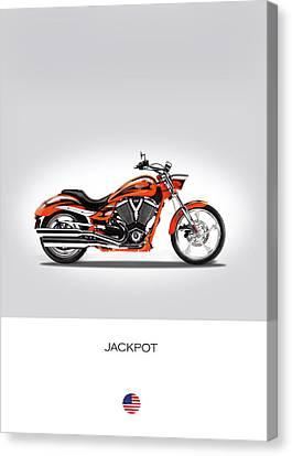 Victory Jackpot Canvas Print by Mark Rogan