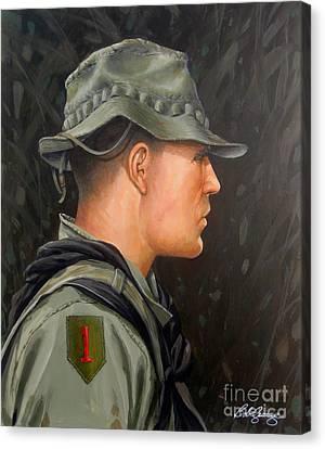 Vietnam Portraits No.12 Canvas Print by Bob  George